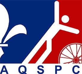 Association Québécoise de sport pour paralytiques cérébraux (AQSPC) logo